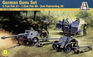 IT7026 German AA & AT Guns Set